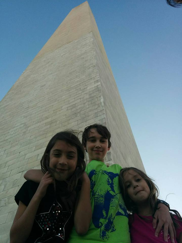 Kids Washington Monument